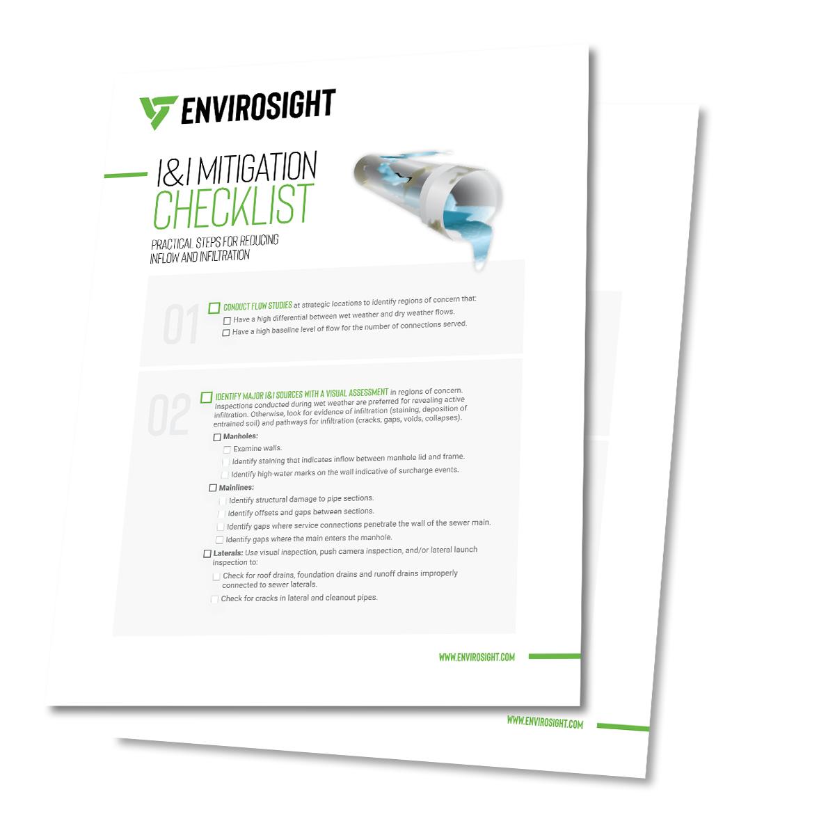 I&I Mitigation Checklist
