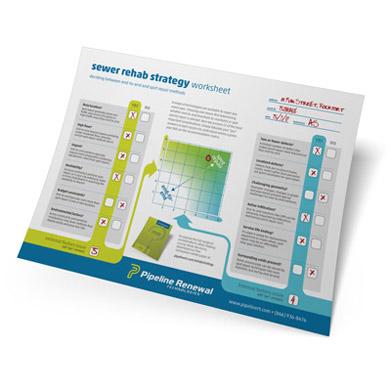 FREE Sewer Rehab Strategy Worksheet