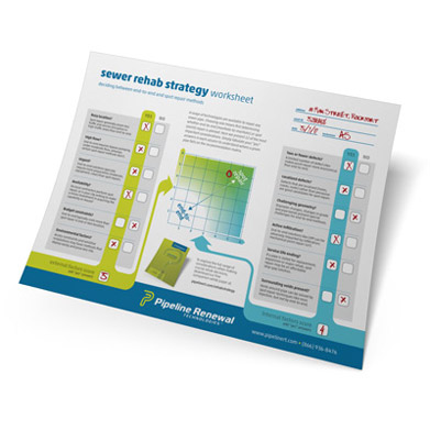 FREE Sewer Rehab Strategy Worksheet
