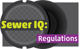 Sewer IQ: Regulations