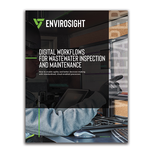Digital Workflows for Wastewater Inspection and Maintenance